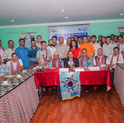 Welcome to Rotary Club Of Bharatpur