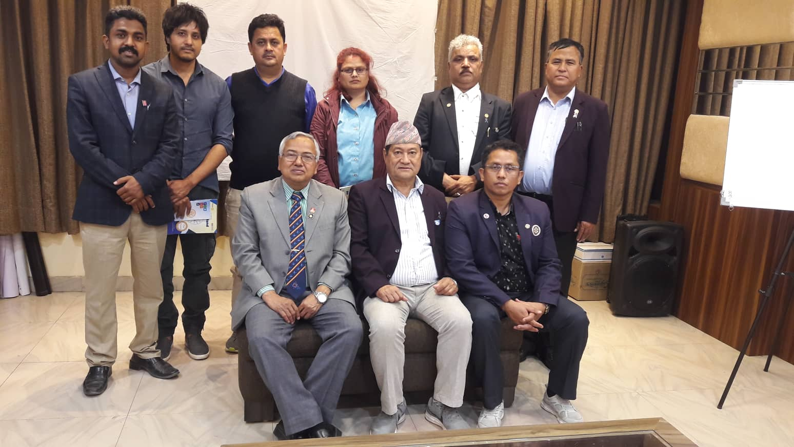 COTS for the Rotary Club of Nepalgunj