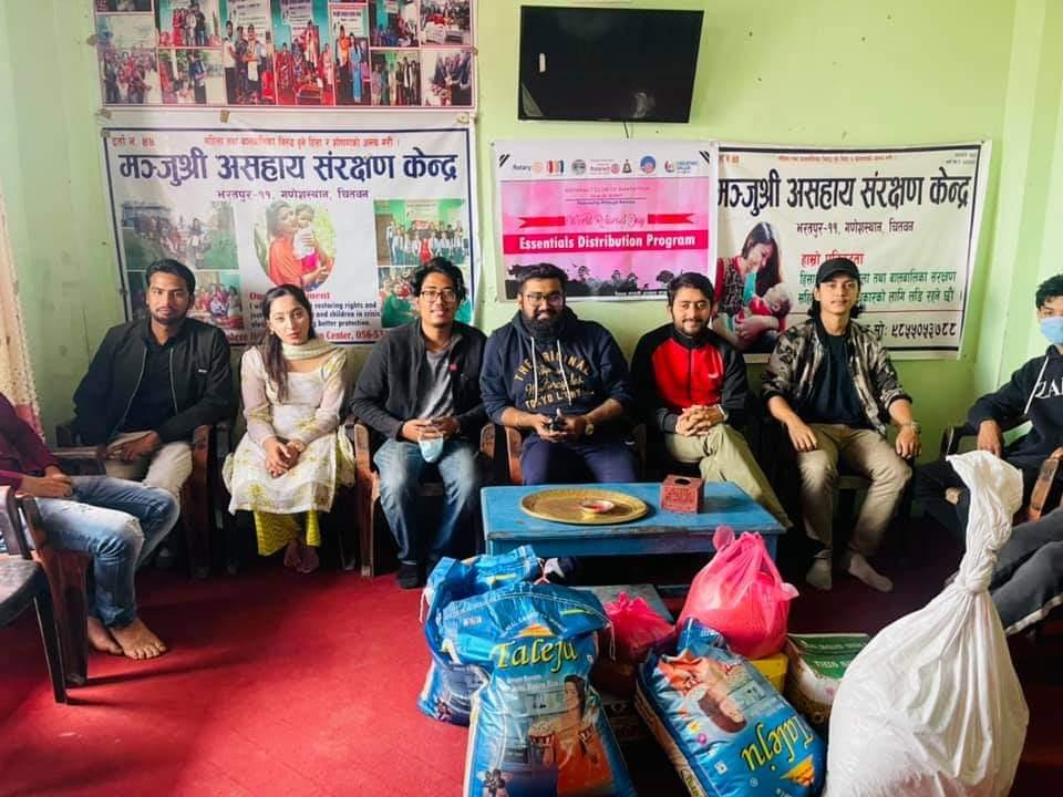 Essentials Distribution Program by RAC Bharatpur